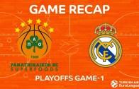Panathinaikos Real Madrid Serisine Farklı Başladı