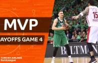 Play Off 4. Maçlar MVP Edgaras Ulanovas