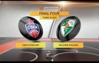 Euroleague Üçüncüsü Belli Oluyor