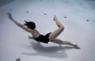 Dünyanın En Derin Havuzunda Muhteşem Dans