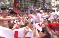 İngiliz Taraftarın Çılgın Galibiyet Kutlaması