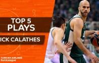 Nick Calathes En iyi 5 Hareket