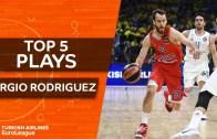 Sezondan Geriye Kalanlar – Sergio Rodriguez En iyi 5 Hareket
