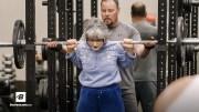 Fitnessçı Yaşlı Kadın Görenleri Şok Etti