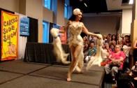 Dövme Fuarında Etkileyici Burlesk Striptiz Gösterisi