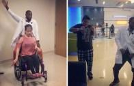 Hastalarına Moral Vermek İçin Onlarla Dans Eden Doktor