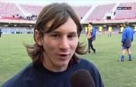 İşte Genç Messi'nin Barça'daki İlk Maçı