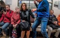 Rus Kadın Çamaşır Suyu ile Asrın Eylemini Yaptı