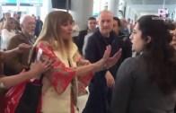 Hava Limanında Personele Hakaret Eden Şuursuz Kadın