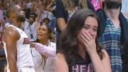 Miami Heat efsanesi Dwyane Wade Son Maçında Şov Yaptı