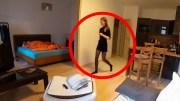 Güvenlik Kameralarına Yakalanmış Tuhaf Görüntüler