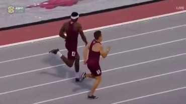 Süpermen Uçuşuyla Yarışı Kazanan ABD'li Atlet