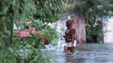 Dorian Kasırgası Korkutan Görüntüler