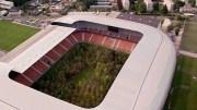İklim Değişikliğine Dikkat Çekmek İçin Stadyuma Yüzlerce Ağaç Dikti