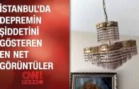 İstanbul'da Korkutan Deprem Anı