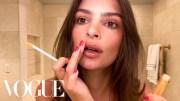 Günlük Makyaj Videosu İle Emily RatajkowskiGüzelliği