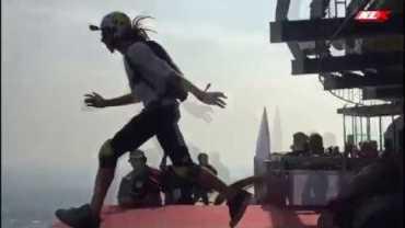 Taşikardisi Olanlar İzlemesin! Base Jump Çılgınlığı