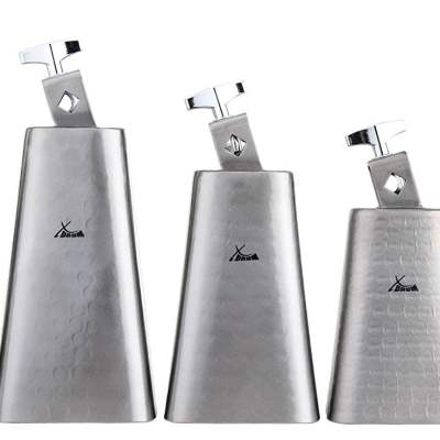 XDrum HCB Cowbell SET hammered and brushed