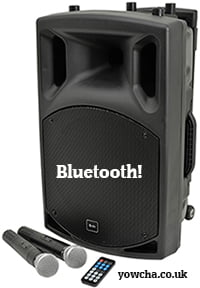 QTX QX15PA Portable Powered PA unit Bluetooth