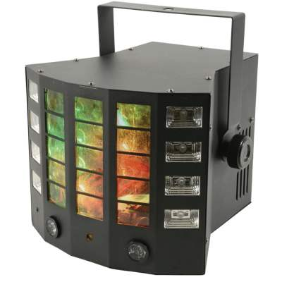 QTX Gobo Derby 4-in-1 LED Lighting Effect