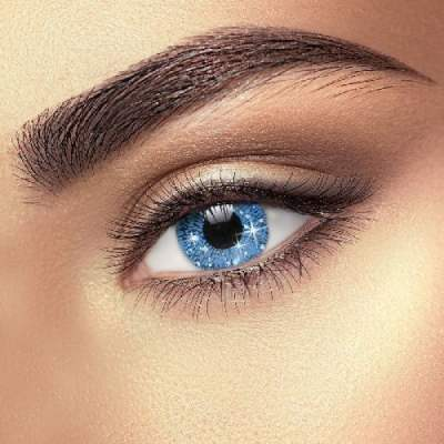 Party Eye Contact Lenses Blue glimmer