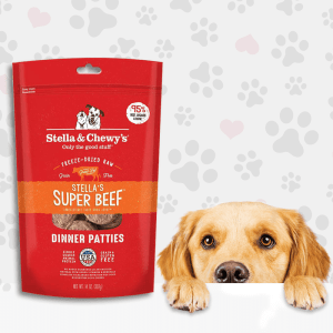 Beef Dinner Patties Grain-Free Food for Dogs