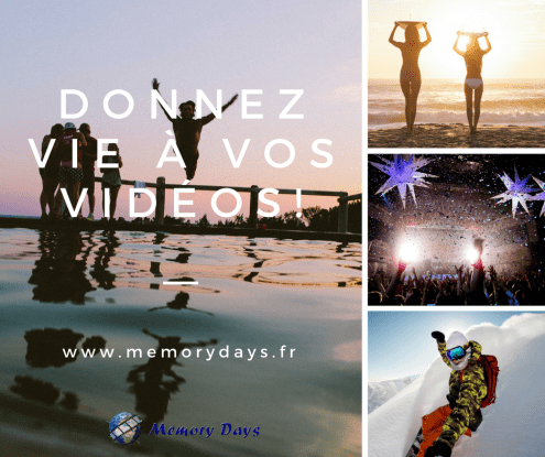montage video vacance famille enfants memorys days