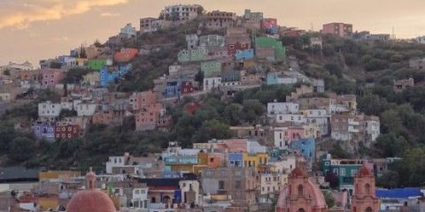 Mexique: Ville Coloniale de Guanajuato, inscrite à l'UNESCO