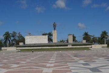 Cuba- Santa Clara: Monument en hommage à Che Guevara