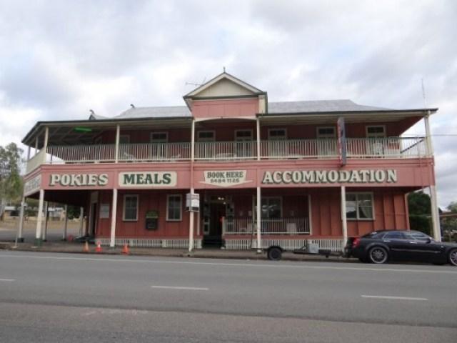 Australie-Queensland: Petit village traverse