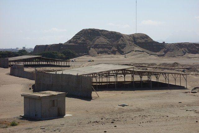 Perou- Huaca del Sol: Vous pouvez voir le temple du soleil.