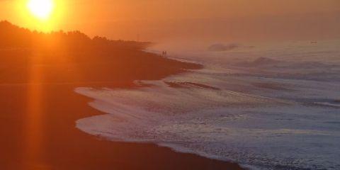 Voyage au Guatemala: Monterrico et superbe plage au couché du soleil