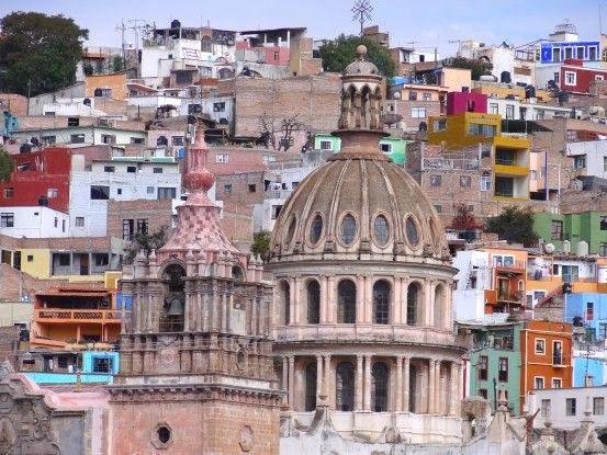 La splendide ville de Guanajuato Mexique photo blog voyage tour du mon de https://yoytourdumonde.fr