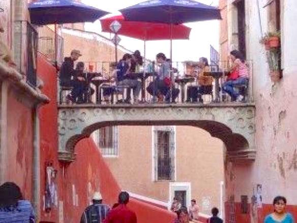 Beauté de la ville de Guanajuato ville coloniale inscrit à l'Unesco photo blog voyage tour du monde https://yoytourdumonde.fr