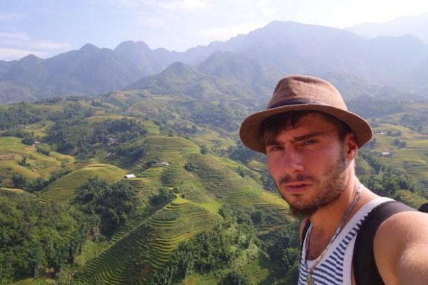 selffie portrait sapa vietnam photo tour du monde http://yoytourdumonde.fr