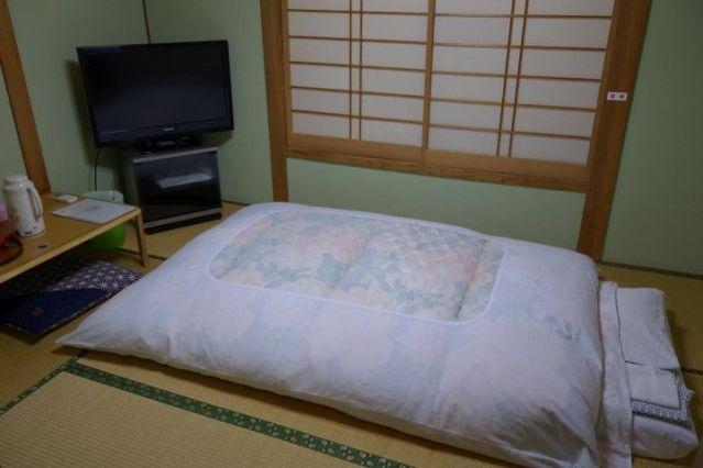 Hotel typique japonais photo blog voyage tour du monde http://yoytourdumonde.fr