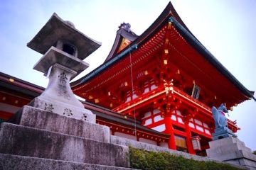 Magnifique temple bouddhiste à Kyoto au Japon article blog tour du monde http://yoytourdumonde.fr