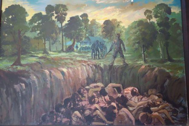 les khmrs rouges ont fait des charniers a killing fields et dans l'ensemble du cambodge phoot blog http://yoytourdumonde.fr