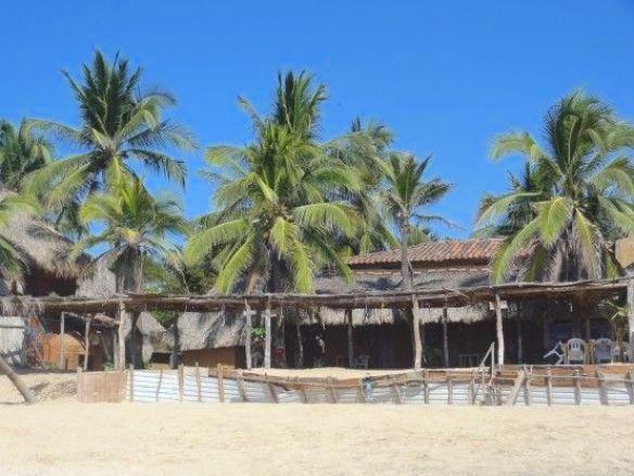 Plage paradisiaque Mazunte blog voyage tour du monde http://yoytourdumonde.fr