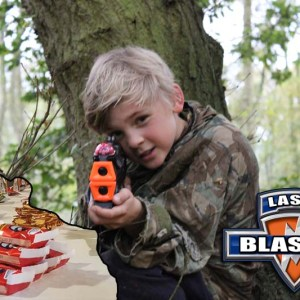 Laser Tag with Food