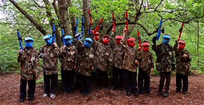 Kids Paintball Games, frequently asked questions