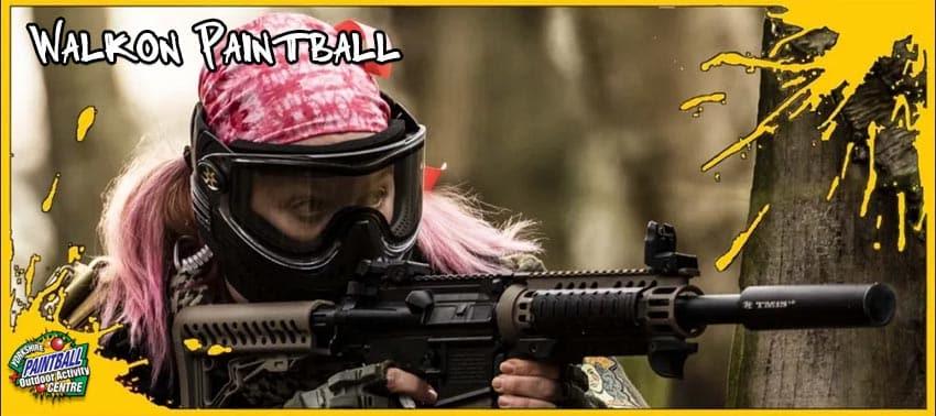 Walkon paintball games