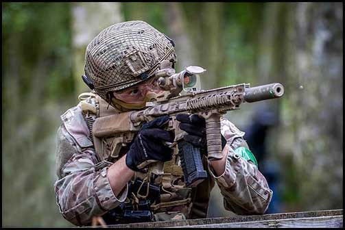 Where to play paintball and airsoft in the UK