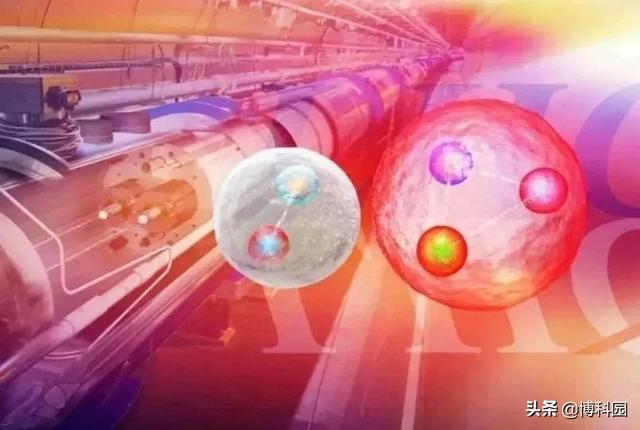 The Large Hadron Collider, the latest breakthrough discovery:an unknown new particle composed of four quarks