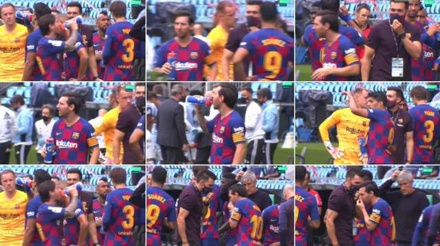 A media lip-speaking expert interprets Messi's assistant:idiot, what do you want me to do?