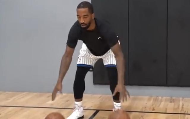 The Lakers formally signed JR Smith, James:Brother, we are like we have never been apart