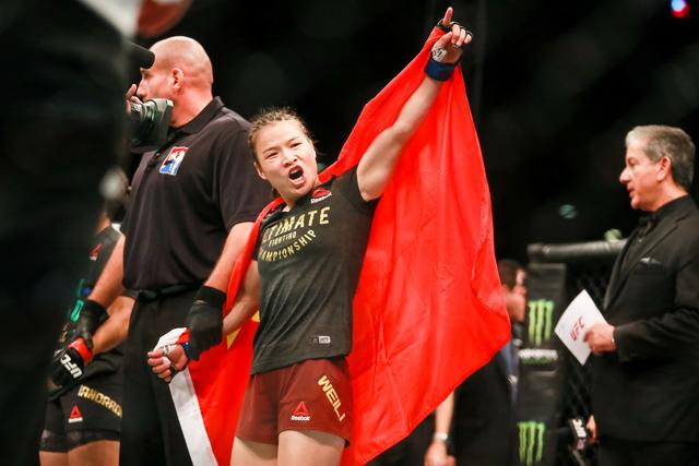 Zhang Weili won ESPN's best female fighter and best match in the first half of the year