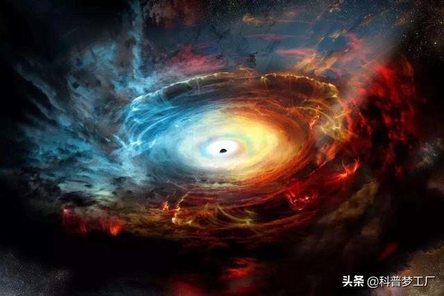 Once a person falls into a black hole, is there still a way to go? Science tells you that maybe the world outside the universe is better