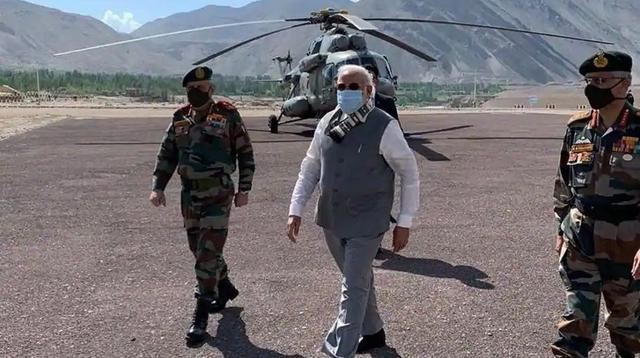 On July 3, Modi suddenly appeared on the Sino-Indian border! Condolences to the wounded soldiers and analysis of the security situation