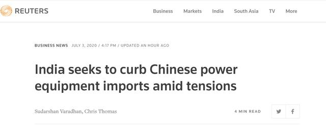 """The Indian government again made a loss:restricting the import of Chinese power equipment, the minister actually said that there may be a""""Trojan horse"""" that can paralyze the power grid remotely"""